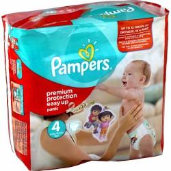 Pack de 90 Couches de Pampers Easy Up de taille 4 sur 123 Couches