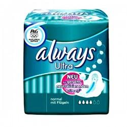Pack d'une quantité de 16 Serviettes hygiéniques Always Ultra taille Normal sur 123 Couches