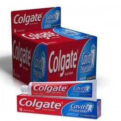 Pack d'une quantité de 10 Dentifrices Colgate de la gamme Cavity Protection sur 123 Couches