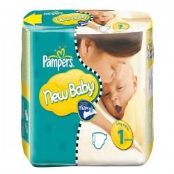 Pack 25 Couches de la marque Pampers New Baby de taille 1 sur 123 Couches