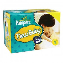 Pack 315 Couches de Pampers New Baby de taille 1 sur 123 Couches