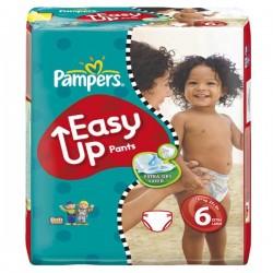 Pack d'une quantité de 114 Couches Pampers Easy Up taille 6 sur 123 Couches