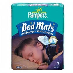 Pack 7 Alèses de lits de Pampers de taille 90X80cm sur 123 Couches