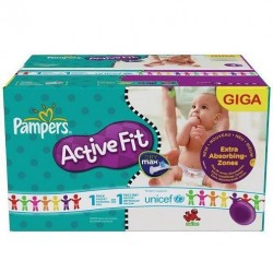 Couches pampers en vente pampers pas cher sur 123couches - Couches pampers active fit taille 4 giga pack ...