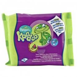 Pack d'une quantité de 55 Lingettes Bébés Pampers Kandoo Melon sur 123 Couches