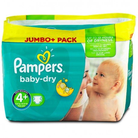 Couches Pampers Baby Dry Taille 4 Pas Cher 210 Couches Sur 123couches