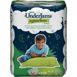 Pack 10 Sous-vêtements jetables Pampers Underjams taille S/M