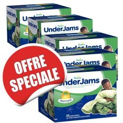 Maxi giga pack d'une quantité de 315 Sous-vêtements jetables Pampers Underjams - pour Garçons de taille L/XL sur 123 Couches