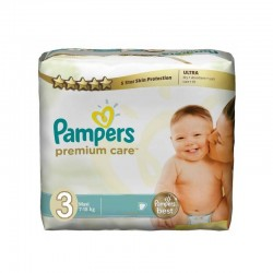 Paquet de 56 Couches de la marque Pampers Premium Care Pants taille 3