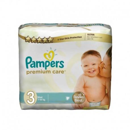 Paquet de 56 Couches de la marque Pampers Premium Care Pants taille 3 sur 123 Couches