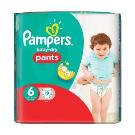 Couches pampers baby dry pants taille 6 pas cher 19 couches sur 123 couches - Couches pampers pas cher taille 2 ...