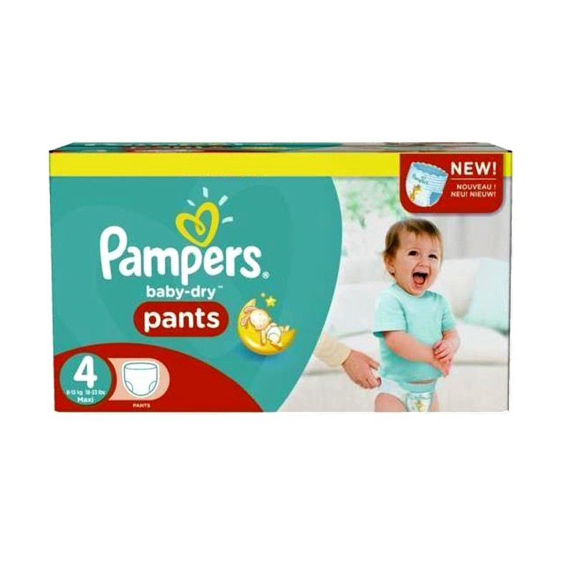 Couches pampers baby dry pants taille 4 bas prix 230 couches sur 123 couches - Comparateur de prix couches pampers ...