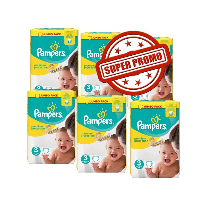 594 couches pampers premium protection taille 3 en solde sur 123 couches - Couches pampers en gros pas cher ...