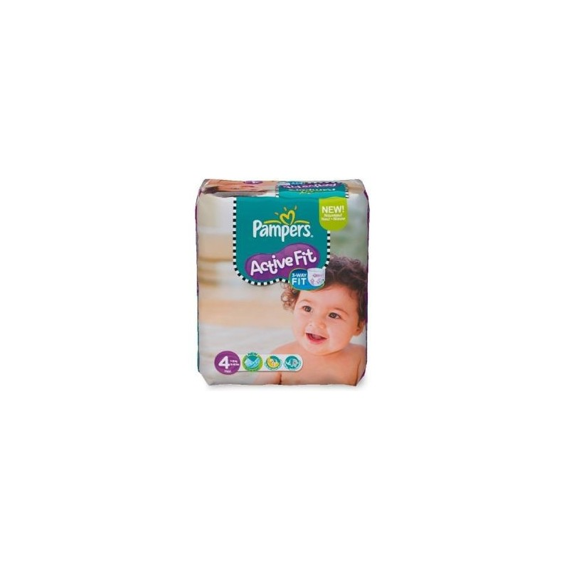Couches pampers active fit taille 4 en promotion 78 - Couches pampers active fit taille 4 giga pack ...