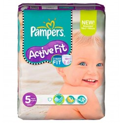 Pack 92 Couches Pampers Active Fit de taille 5