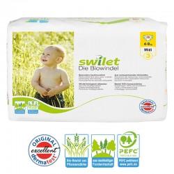 Pquet 28 Couches bio écologiques Swilet Premium Protection taille 3