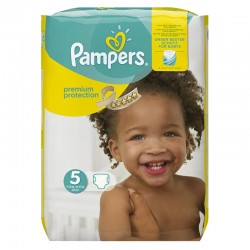 Pack 68 Couches Pampers Premium Protection - New Baby taille 5 sur 123 Couches