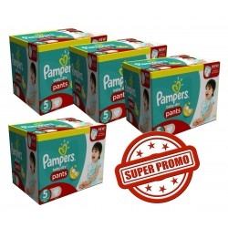 Giga Pack Jumeaux 252 Couches Pampers Baby Dry Pants taille 5 sur 123 Couches