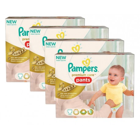 Maxi Giga Pack 224 Couches Pampers Premium Care Pants taille 3 sur 123 Couches