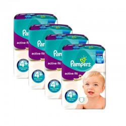 Giga Pack 248 Couches Pampers Active Fit taille 4+