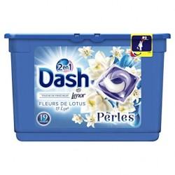 Dash Perles 19 Fleurs de Lotus & Lys 2en1 (501,6 gr) sur 123 Couches