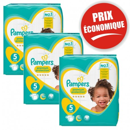 120 Couches Pampers New Baby Taille 5 En Solde Sur 123 Couches