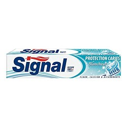 Dentifrice Signal Protection Caries Blancheur sur 123 Couches