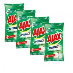 Ajax Lingettes 200 Lingettes Optimal 7 Cuisine & Surfaces Grasses sur 123 Couches