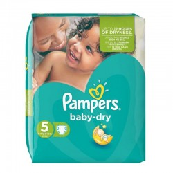 Pack 90 couches Pampers Baby Dry