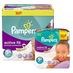 Maxi Pack 288 Couches Pampers Active Fit Premium Protection sur 123 Couches