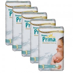 Giga Pack 154 Couches Pampers Premium Care - Prima taille 1 sur 123 Couches