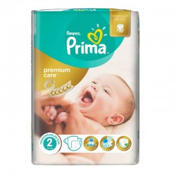 Pack 22 Couches Pampers Premium Care Prima