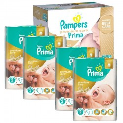 Mega Pack 440 couches Pampers Premium Care Prima