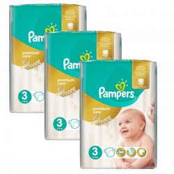 Maxi Pack 180 Couches Pampers Premium Care - Prima taille 3