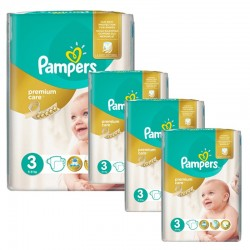 Maxi Giga Pack 240 Couches Pampers Premium Care Prima sur 123 Couches