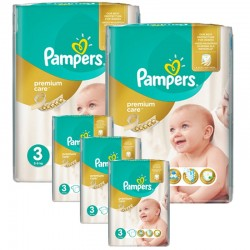 Mega Pack 340 couches Pampers Premium Care Prima sur 123 Couches