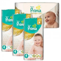 Maxi Pack 240 Couches Pampers Premium Care - Prima taille 4