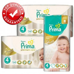 Pack Jumeaux 560 couches Pampers Premium Care Prima
