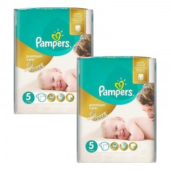 Giga Pack 104 Couches Pampers Premium Care Prima