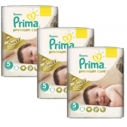Maxi Pack 378 Couches Pampers Premium Care - Prima taille 5