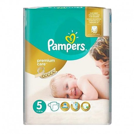 Pack 60 Couches Pampers Premium Care - Prima taille 5 sur 123 Couches