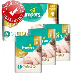 Giga Pack 180 Couches Pampers Premium Care Prima Taille 5 Junior (11-25 kg)