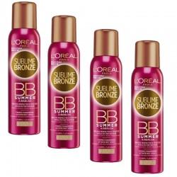 Lot de 4 Sprays Sublime Bronze 150 ml BB Summer Airbrush sur 123 Couches