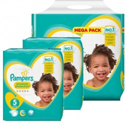 pack Jumeaux 480 Couches Pampers new baby - premium protection taille 5