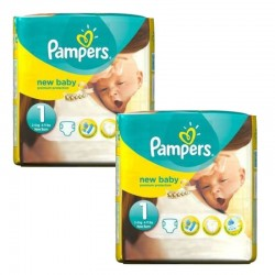Pack 46 couches Pampers New Baby Premium Protection