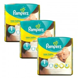 Pack 69 couches Pampers New Baby Premium Protection