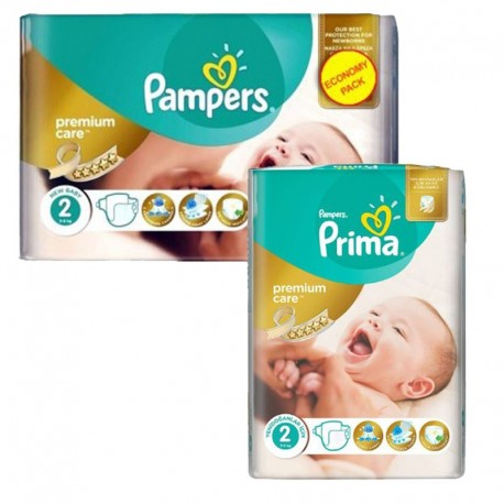 Pack 114 Couches Pampers new baby - premium protection taille 2 sur 123 Couches