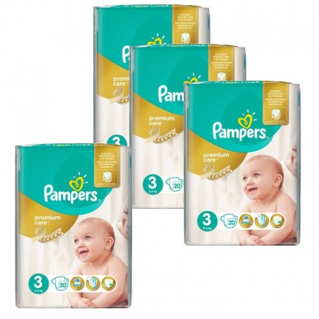 Pack 100 Couches Pampers Premium Care Prima sur 123 Couches