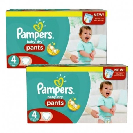 Pack Jumeaux 564 couches Pampers Baby Dry Pants sur 123 Couches