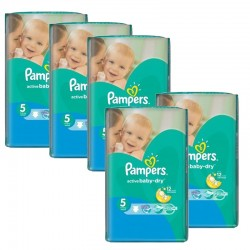 Mega Pack 352 Couches Pampers Active Baby Dry taille 5